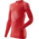 X-Bionic Invent Long Sleeve Shirt Junior Red/White